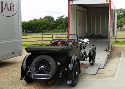 Vintage Car Transport