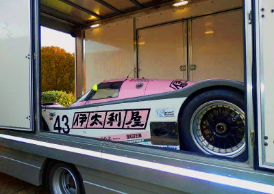 Race car transport