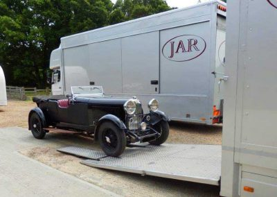 Veteran car transport