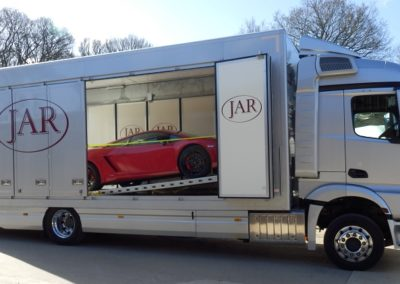 Supercar transport