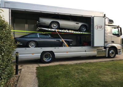 classic car transport