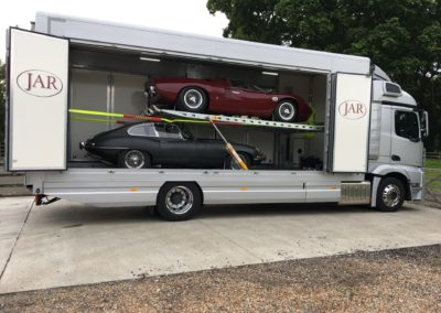 Classic car transport sussex